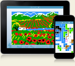Link-a-Pix for iPhone, iPad and Android