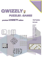 Qwizzly Puzzles & Games Premium Variety Edition: Cover