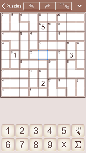 SumSudoku for iPhone and iPad (iPhone)