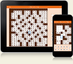 Kakuro for iPhone, iPad and Android