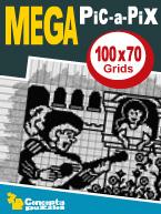 Mega Pic-a-Pix: Cover