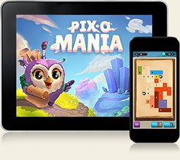 Pix-o-Mania for iPhone, iPad and Android
